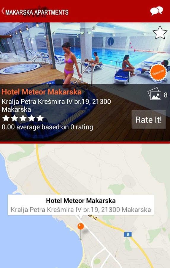 Makarska Riviera Apartments- screenshot