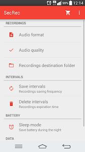 SecRec - Secret Audio Recorder screenshot 3