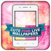 Cute Pink Live Wallpapers