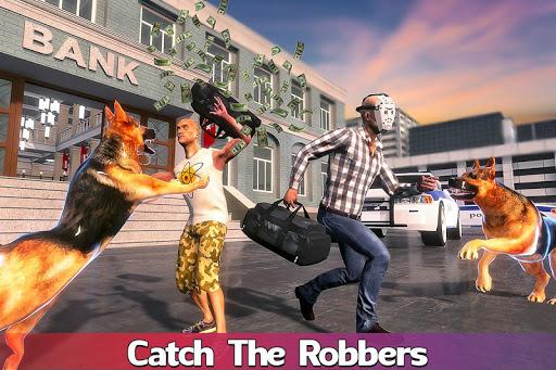 Code Triche US Police Dog: Crime Chase Duty Simulator apk mod screenshots 6