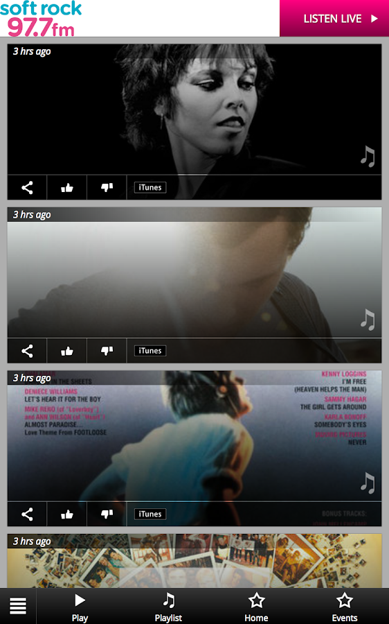 soft rock 97.7 FM- screenshot