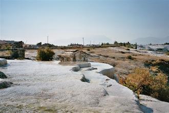 Photo: kaskády v Pamukkale