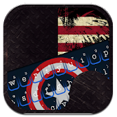 Captain USA Theme Keyboard