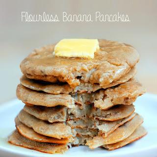 Flourless Pancakes – 3 Ingredients.