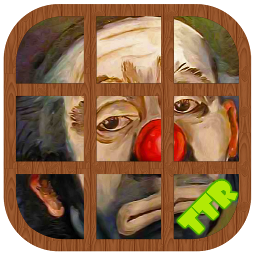 Clown Sliding Puzzle (game)