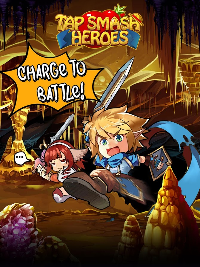 Tap Smash Heroes: Idle RPG Game Android 11