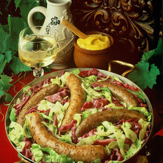 Polish Sausage with Cabbage.