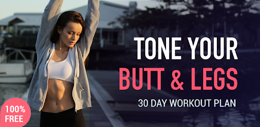 Buttocks Workout - Hips, Legs & Butt workout app (apk) free download for Android/PC/Windows screenshot