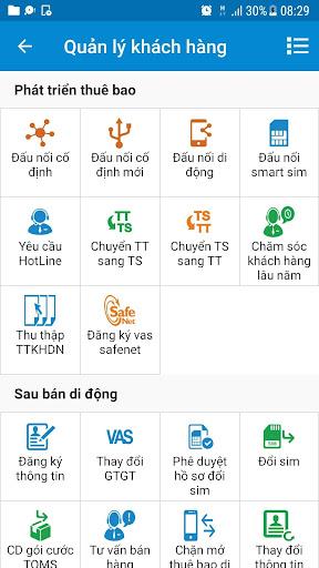 mBCCS 2.0 - Viettel Telecom 5.3.0 screenshots 3