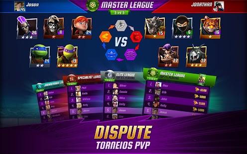 As Tartarugas Ninja: Lendas APK para Android imagem 6