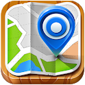 Village Map Street View icon