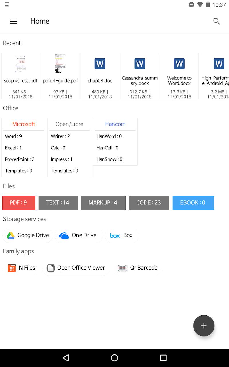 N Docs - Office, Pdf, Text, Markup, Ebook Reader Screenshot 13