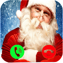 a call from santa prank icon