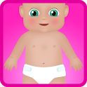 baby diaper games icon