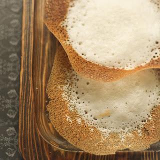 Apom or Appam Recipe (Indian Fermented Rice Pancake)