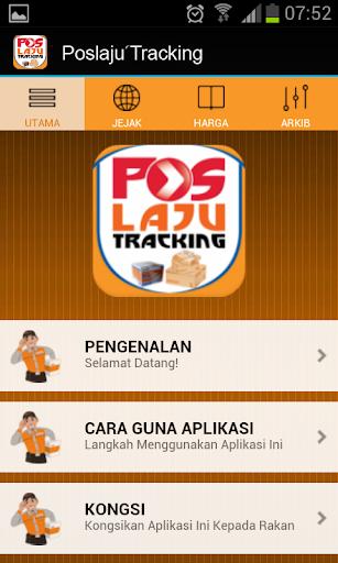 Pos Laju Tracking Number