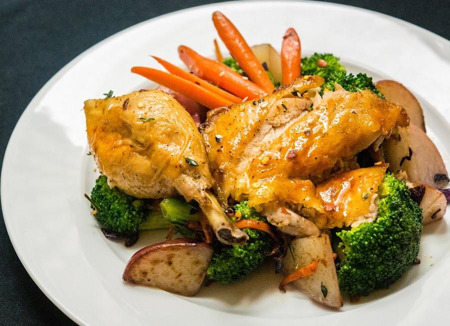Winner Winner Chicken Dinner by Antonio Winston - Food & Drink Plated Food