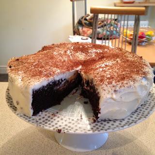 The Hummingbird Bakery Chocolate Guinness Cake.
