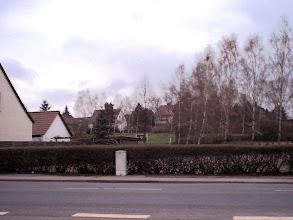 Photo: 2003 - Haupstraße, hinten der Habichtsweg