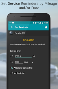 Fuel Buddy - Car Management; Fuel and Mileage Log- screenshot thumbnail