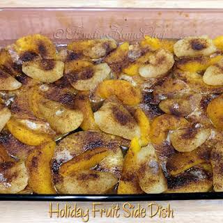Holiday Fruit Side Dish.