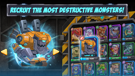 Tactical Monsters Rumble Arena MOD APK [High Attack + Defense] 1.18.6 10