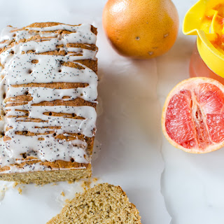 Whole Grain Grapefruit Cake with Olive Oil and Greek Yogurt