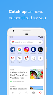 Opera browser with free VPN apk download 2