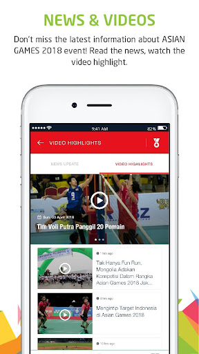 Telkomsel Asian Games screenshot 4