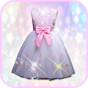 Flower Girl Dress Photo Maker