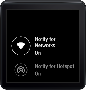 Wifi Manager for Android Wear Screenshot