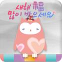 Secret owl(happy new year) icon