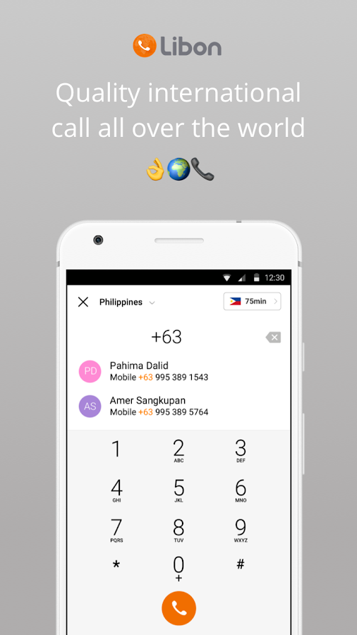 Libon - International calls- screenshot