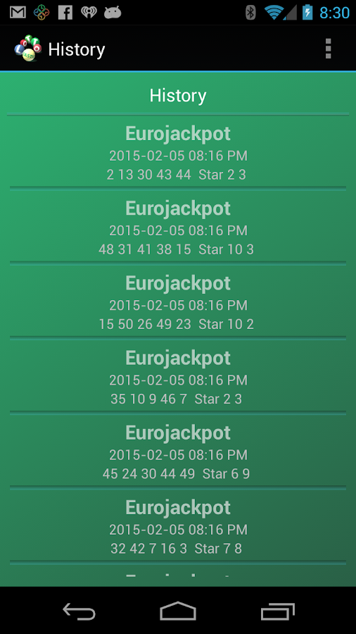 Lotto Loot- screenshot