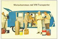 Transporter Kombi blå