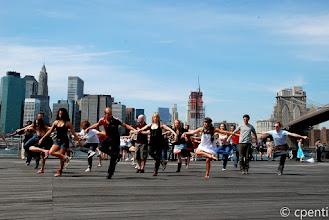 Photo: New York (USA) - A chorus line