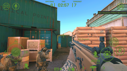 CRITICAL POINT - multiplayer 3D shooter 0.8.5