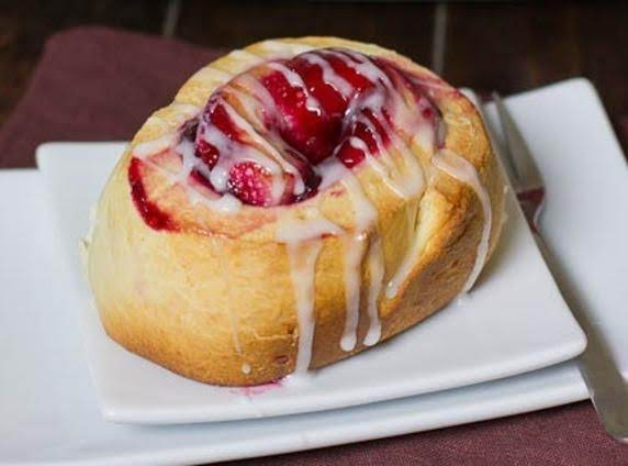 Sweet Rolls With Cherry