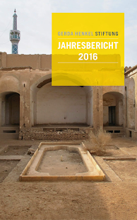 Gerda Henkel Stiftung 2016 - náhled
