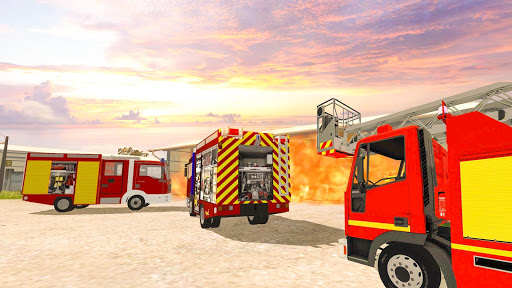 Firefighter Games : fire truck games screenshots 3
