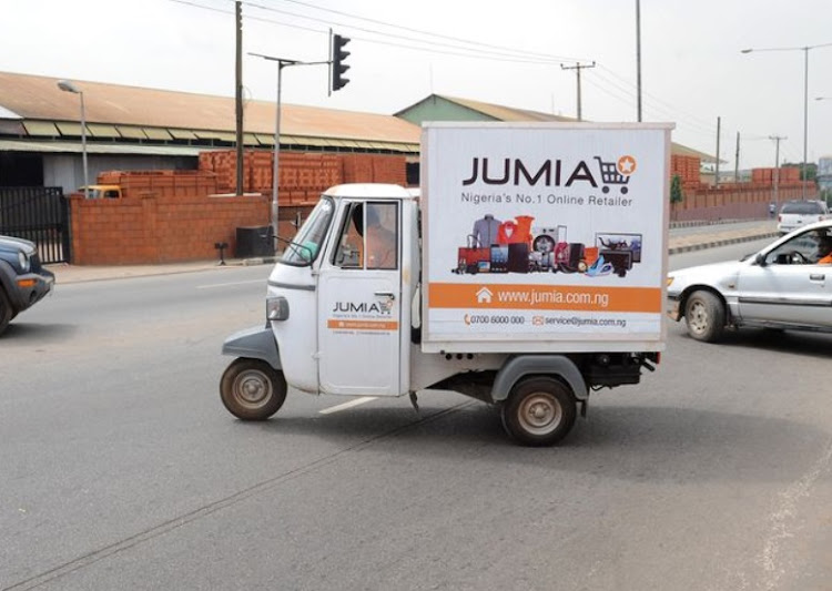 A Jumia delivery van. Picture: BLOOMBERG