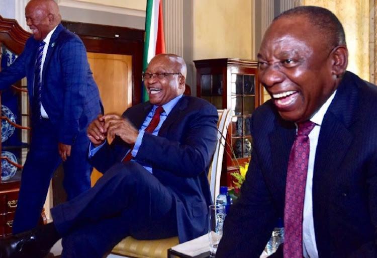 Ramaphosa hosts farewell function for Zuma