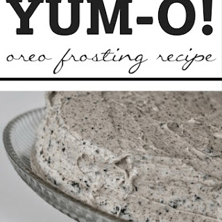 Yum-O Oreo Frosting! Recipe