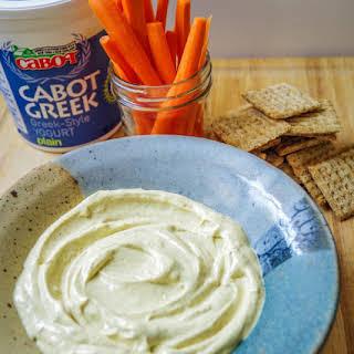 Curried Greek Yogurt Dip.