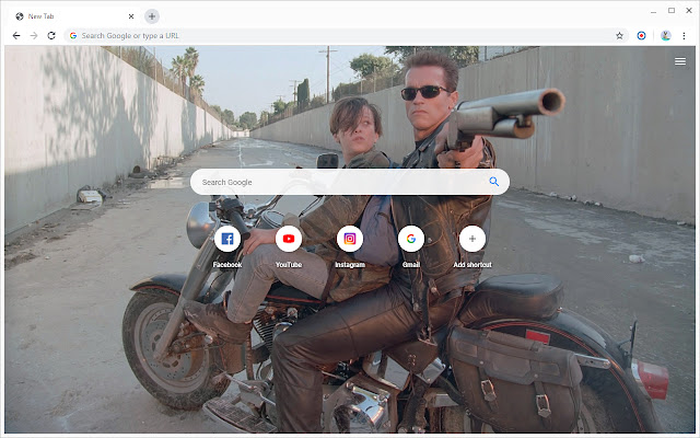 New Tab - Terminator 2: Judgment Day