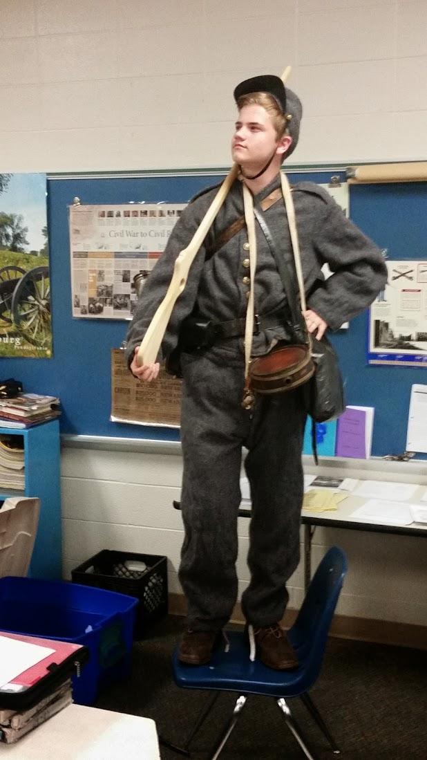 Civil War Confederate Soldier - 4