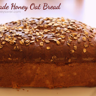 Honey Oat Bread