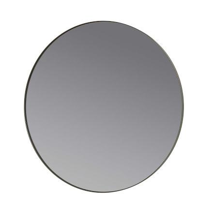 RIM Spegel, Ø 50 cm, Steel Gray