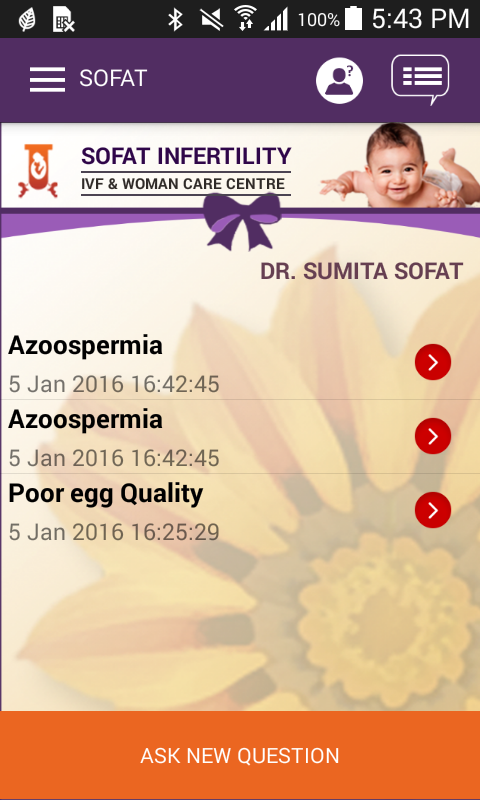 Sofat Infertility Hospital- screenshot