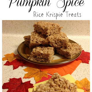 Pumpkin Spice Rice Krispie Treats (and 6 other yummy fall treats!)